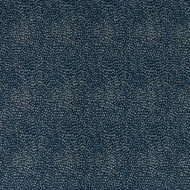 Calico Navy Reverse Fabric