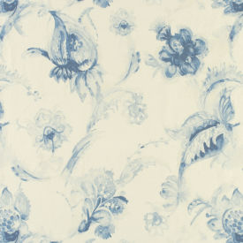 Lela Blue Fabric