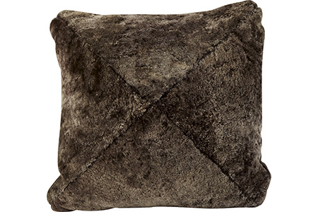 Shearling Mink Mitered Pillow