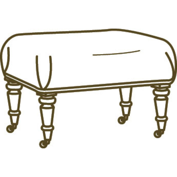 1005 00 Ottoman At Lee Industries