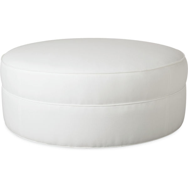 L1233 90 Leather Cocktail Ottoman At Lee Industries
