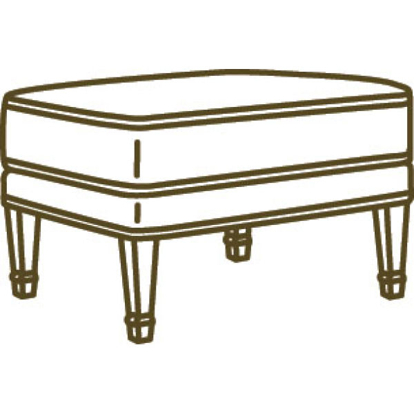 1802 00 Ottoman At Lee Industries