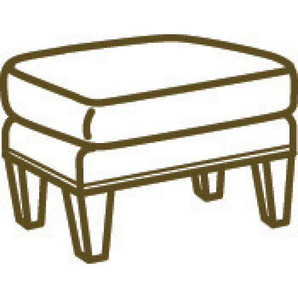 1953 00 Ottoman At Lee Industries