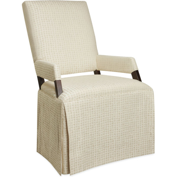 7551 01 Skirted Sled Chair At Lee Industries