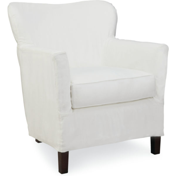 C1367 01 Slipcovered Chair At Lee Industries