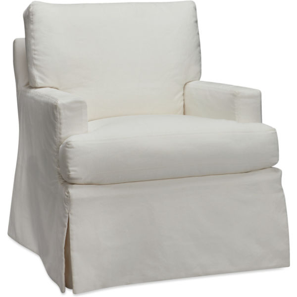 C1601 01sg Slipcovered Swivel Glider At Lee Industries