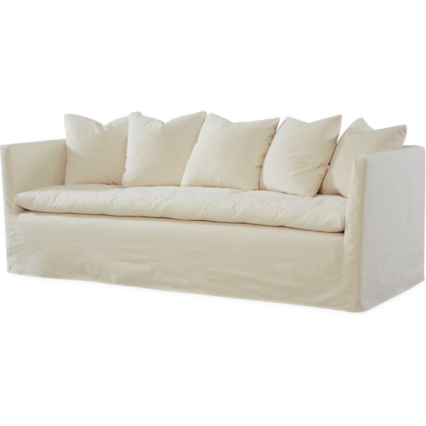 C3681 03 Slipcovered Sofa At Lee Industries