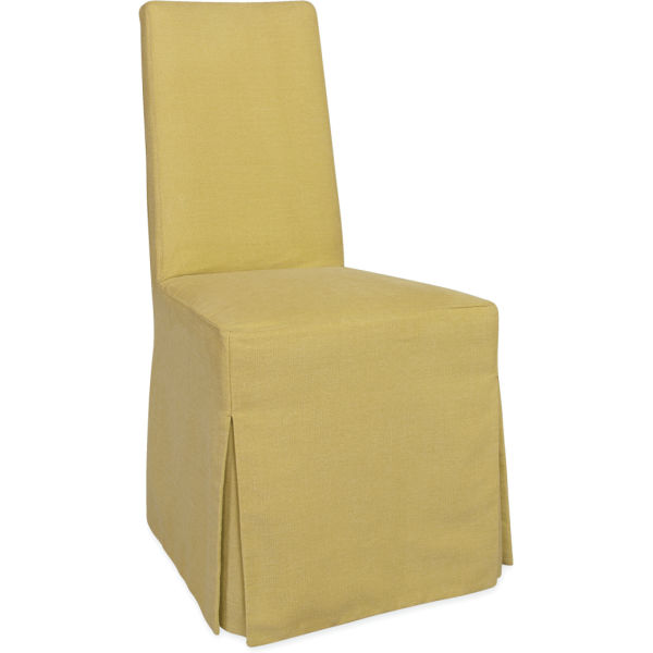 C5471 01c Slipcovered Dining Side Chair At Lee Industries