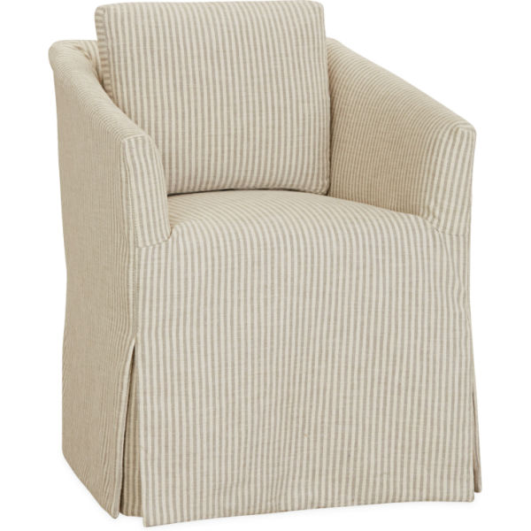 C5551 01c Slipcovered Chair At Lee Industries