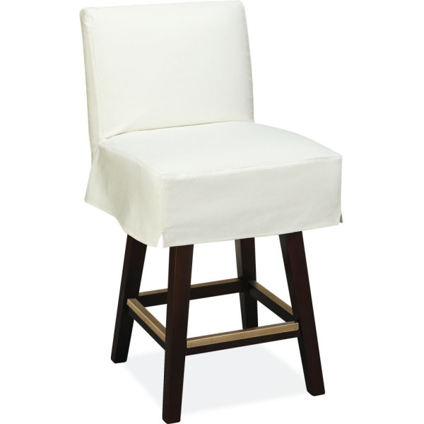 C7001 51sw Slipcovered Swivel Counter Stool At Lee Industries