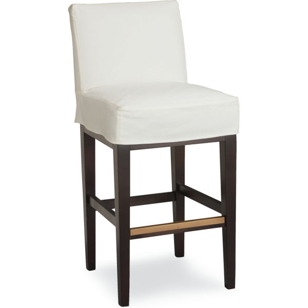 C7003 52 Slipcovered Bar Stool At Lee Industries