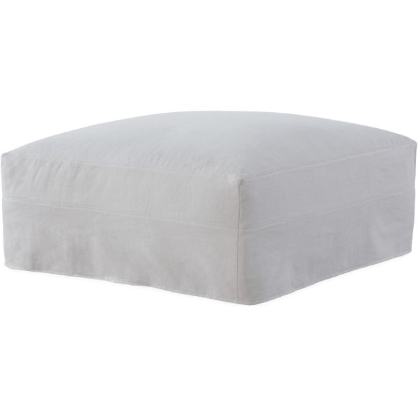 C7922 90 Slipcovered Ottoman At Lee Industries