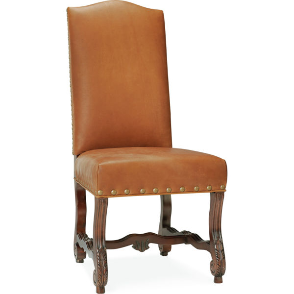 L5862 01 Leather Hostess Chair At Lee Industries