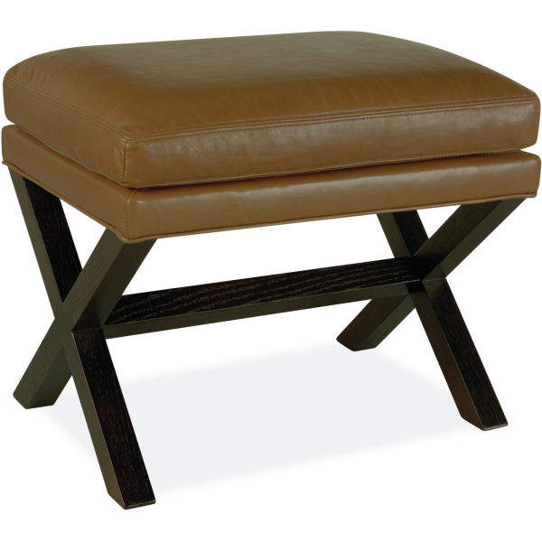 L9128 00 Leather Ottoman At Lee Industries