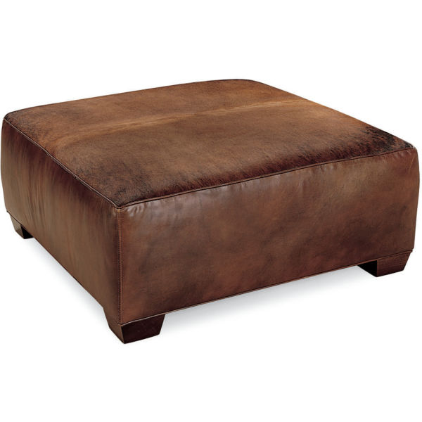 L9444 90 Leather Cocktail Ottoman At Lee Industries