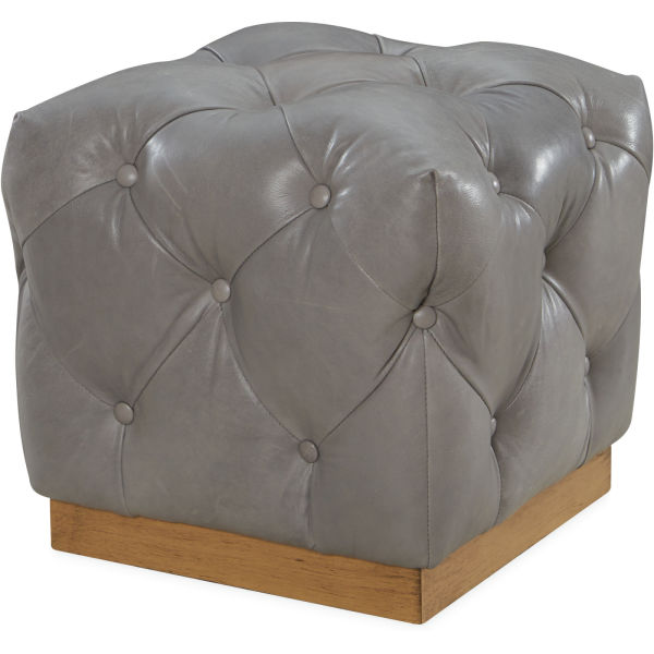 L9679 00 Leather Ottoman At Lee Industries