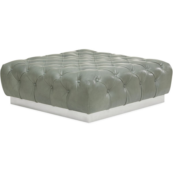 L9779 90 Leather Cocktail Ottoman At Lee Industries