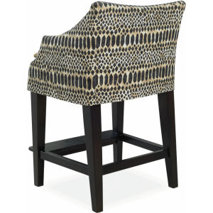C5203 51 Slipcovered Campaign Counter Stool At Lee Industries