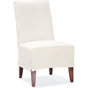 C7001 01 Slipcovered Hostess Chair At Lee Industries