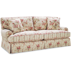 C7061 03 Slipcovered Sofa At Lee Industries