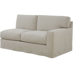 Magnificent C7922 19Rf Slipcovered One Arm Loveseat At Lee Industries Forskolin Free Trial Chair Design Images Forskolin Free Trialorg