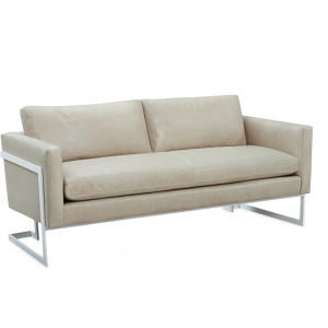 L1857-11 Leather Apartment Sofa at Lee Industries