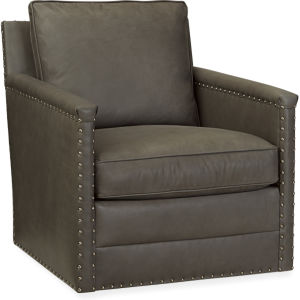 L1935 01SW Leather Swivel Chair