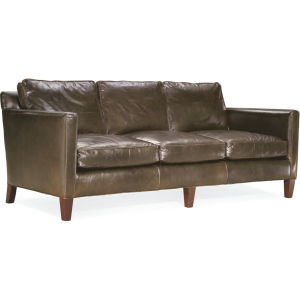 L3068-11 Leather Apartment Sofa at Lee Industries