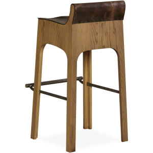 L560852 Leather Bar Stool Leather Bar Stools With Back O56