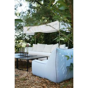 U101-03 Oleander Outdoor Sofa w/Canopy at Lee Industries