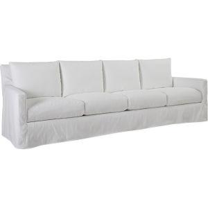 US112 44 Nandina Outdoor Slipcovered Four Cushion Sofa
