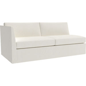 Sensational Us3942 19Lf Havana Outdoor Slipcovered One Arm Loveseat At Pabps2019 Chair Design Images Pabps2019Com