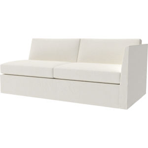 Prime Us3942 19Lf Havana Outdoor Slipcovered One Arm Loveseat At Pabps2019 Chair Design Images Pabps2019Com